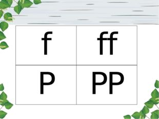 f ff P PP