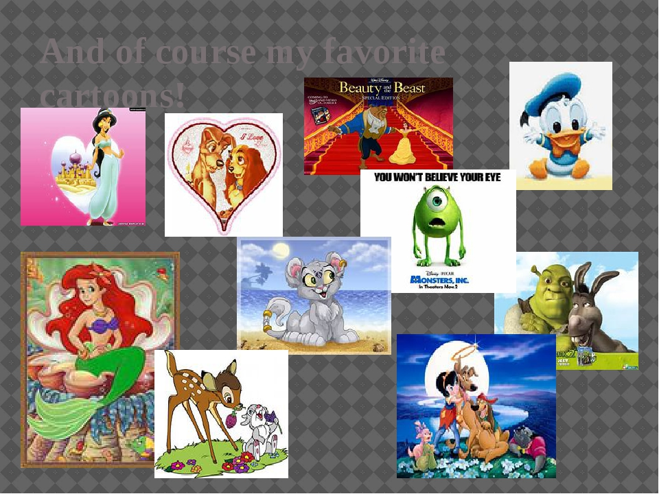 And of course my favorite cartoons!