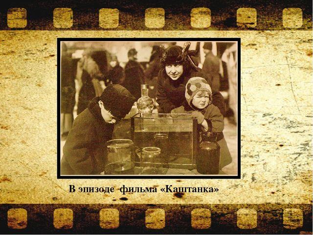 В эпизоде фильма «Каштанка»