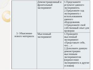 3. Объяснение нового материала Демонстрационный и фронтальный эксперимент 1.П