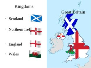 Scotland Great Britain Northern Ireland England Wales Kingdoms