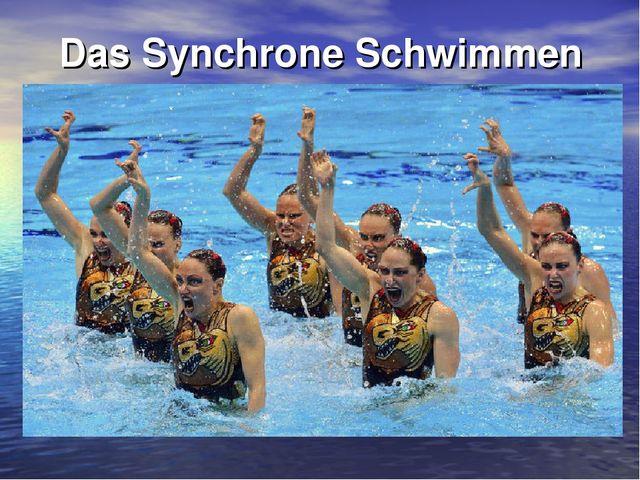 Das Synchrone Schwimmen