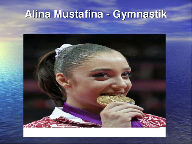 Alina Mustafina - Gymnastik