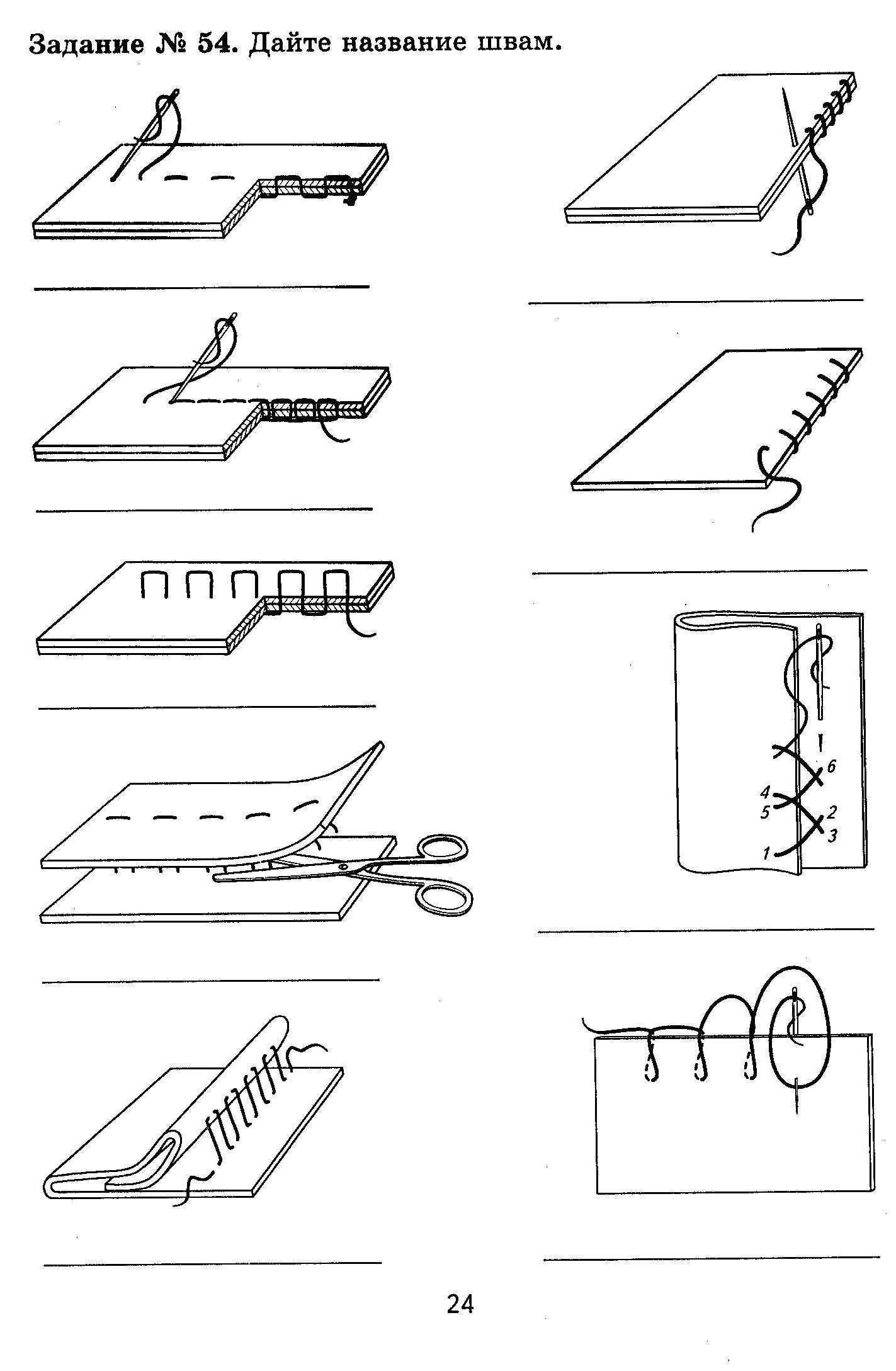 Конспект урока швейные ручные работы 5 класс фгос
