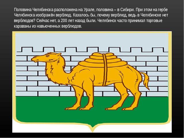 Половина Челябинска расположена на Урале, половина – в Сибири. При этом на ге...