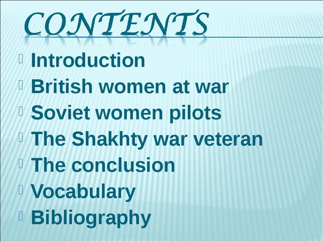 Introduction   British women at war Soviet women pilots The Shakhty war veter...