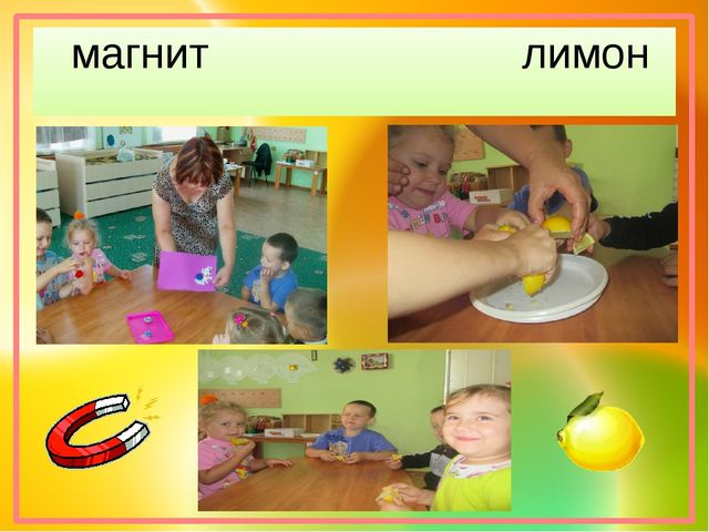 магнит лимон