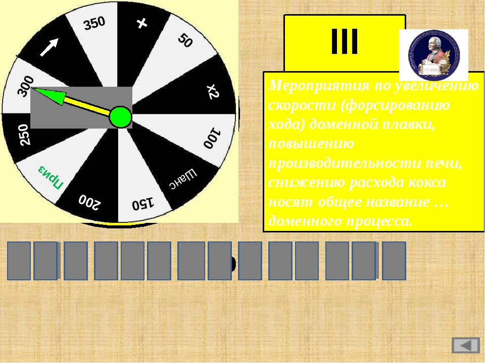 III игра Мероприятия по увеличению скорости (форсированию хода) доменной плав...