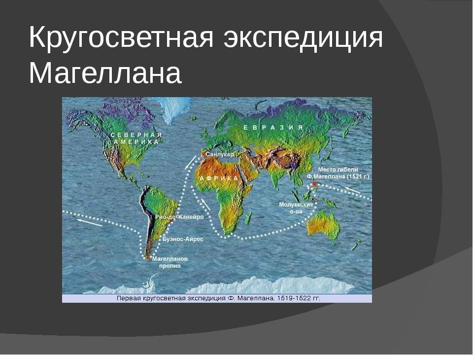 Кругосветная экспедиция Магеллана