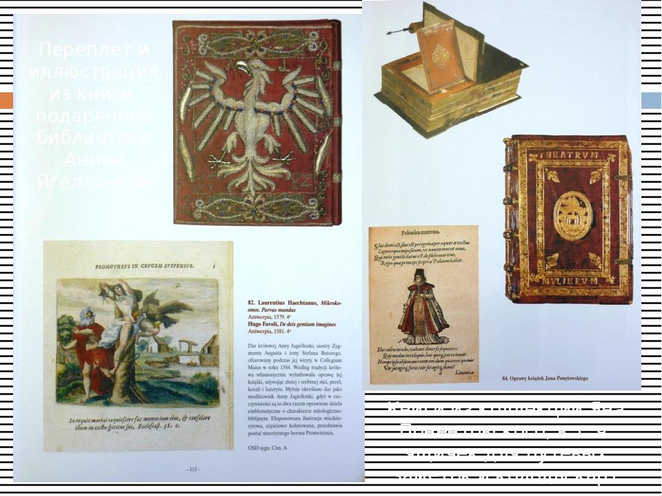 Книги из коллекции Яна Понентовского, в т. ч. ящичек для путевых заметок и к...