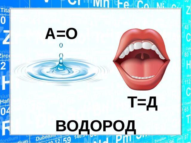 ВОДОРОД А=О Т=Д
