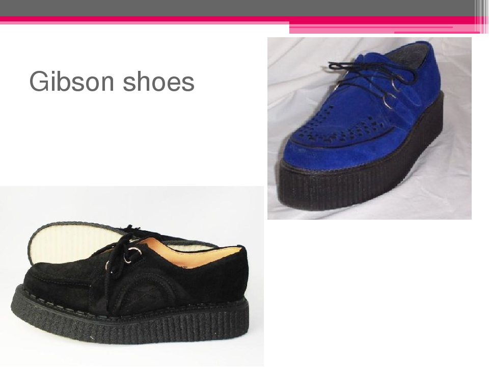 Gibson shoes