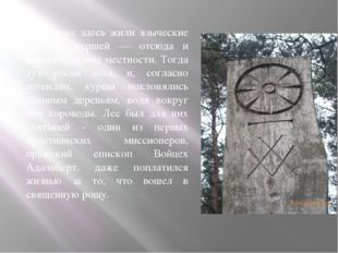 В IX веке здесь жили языческие племена куршей — отсюда и пошло название местн