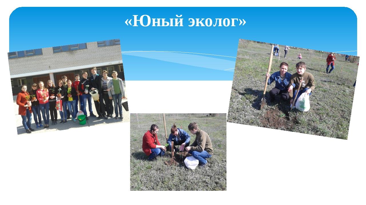 «Юный эколог»