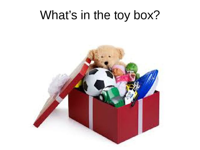 What's in the toy box?