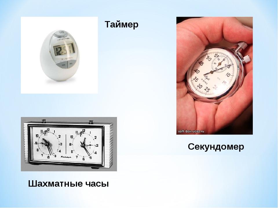 Шахматные часы Таймер Секундомер