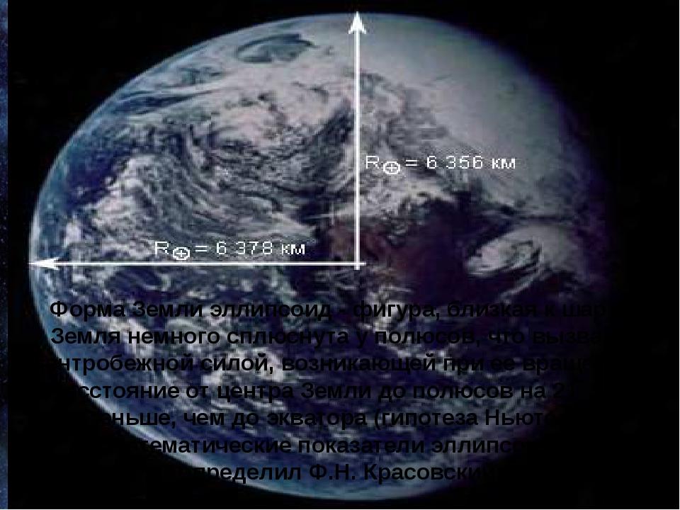 Французский астроном Жан Рише 300 лет назад обнаружил факт несоответствия фор...