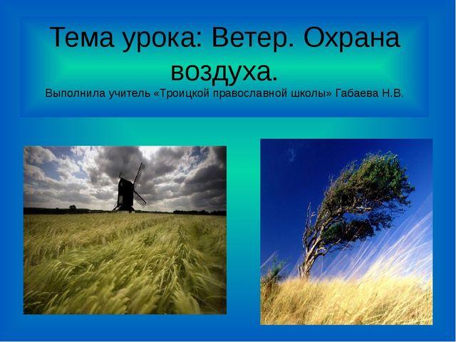 Презентацию по окружающему миру на тему ветер