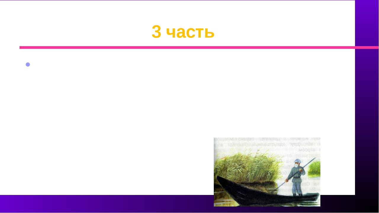 3 часть Прочитав эту часть, выбрать слова и сочетания слов, характеризующие Т...