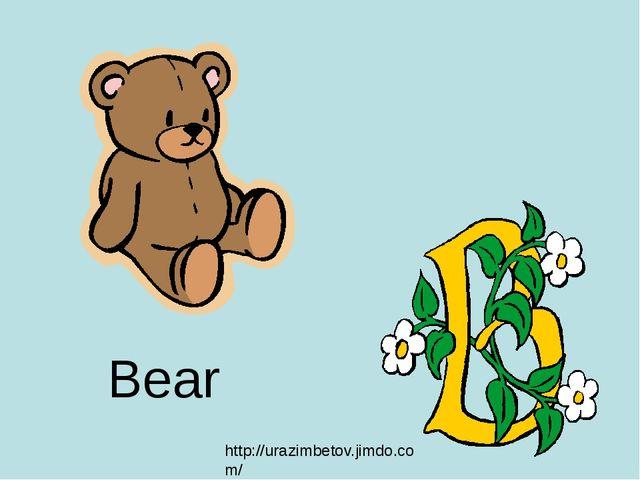 Bear http://urazimbetov.jimdo.com/