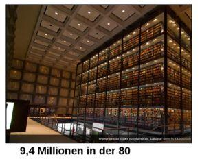9,4 Millionen in der 80 Sprachen