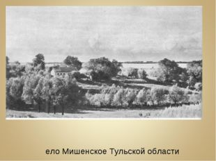Село Мишенское Тульской области