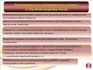 Широкое использование произведений художественной литературы, репродукций рус