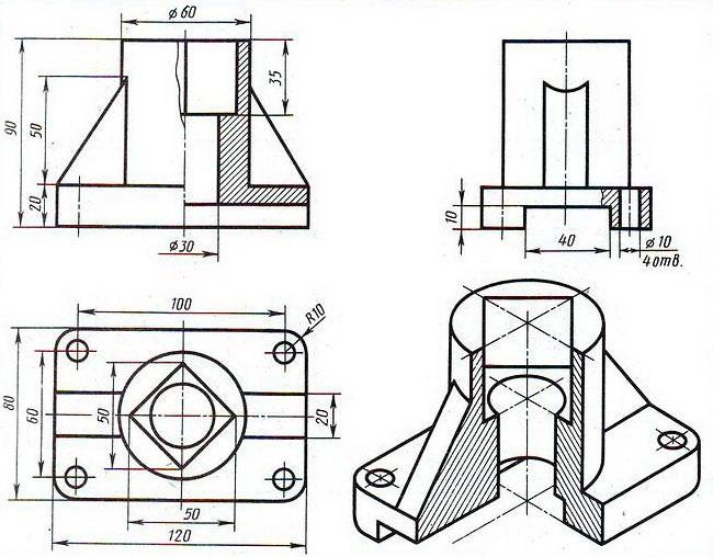 Как из чертежа сделать деталь в solidworks