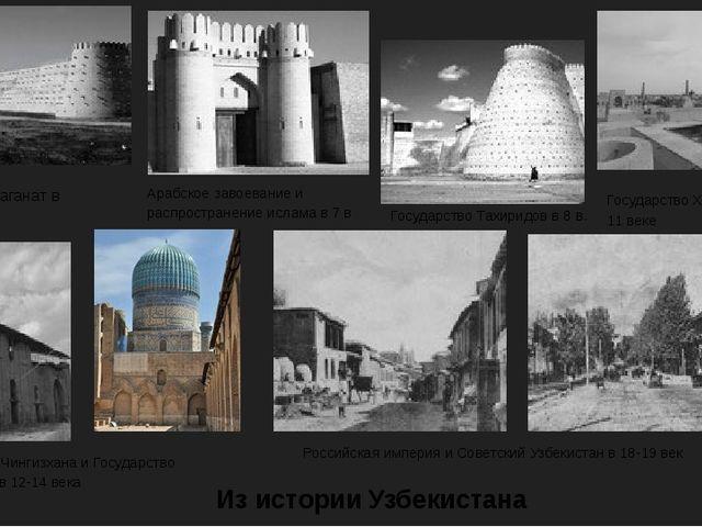 Тюрский каганат в 6 веке Арабское завоевание и распространение ислама в 7 в Г...