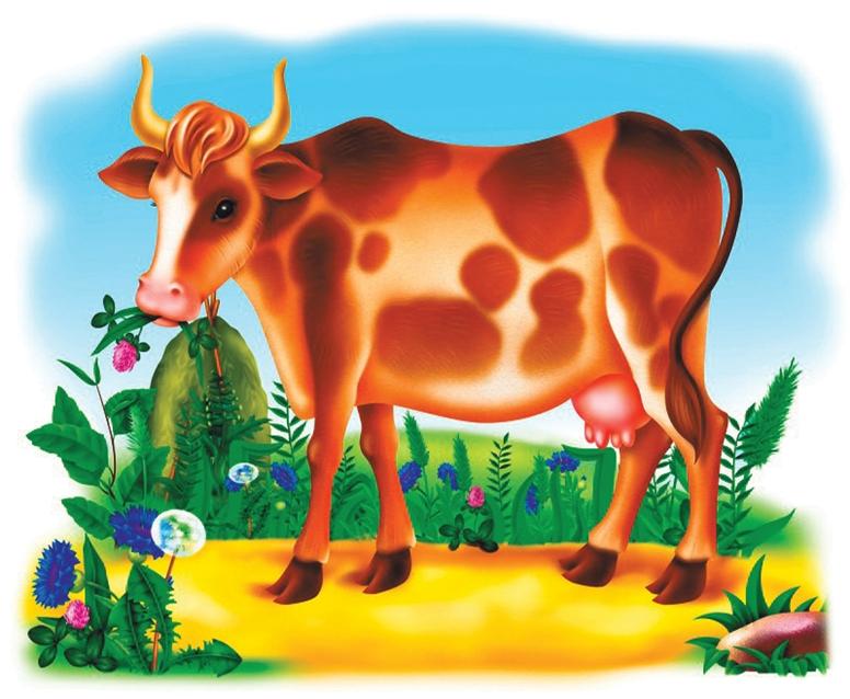 Открытка, рисованные картинки для детей домашние животные