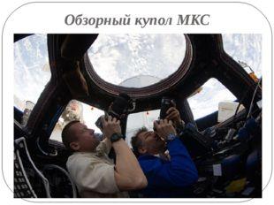 Обзорный купол МКС