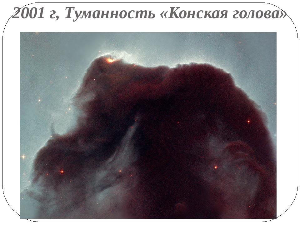 2001 г, Туманность «Конская голова»