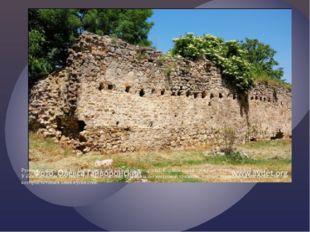 Руины караван-сарая, ул. Партизанская (в южной части города). Караван-сарай т