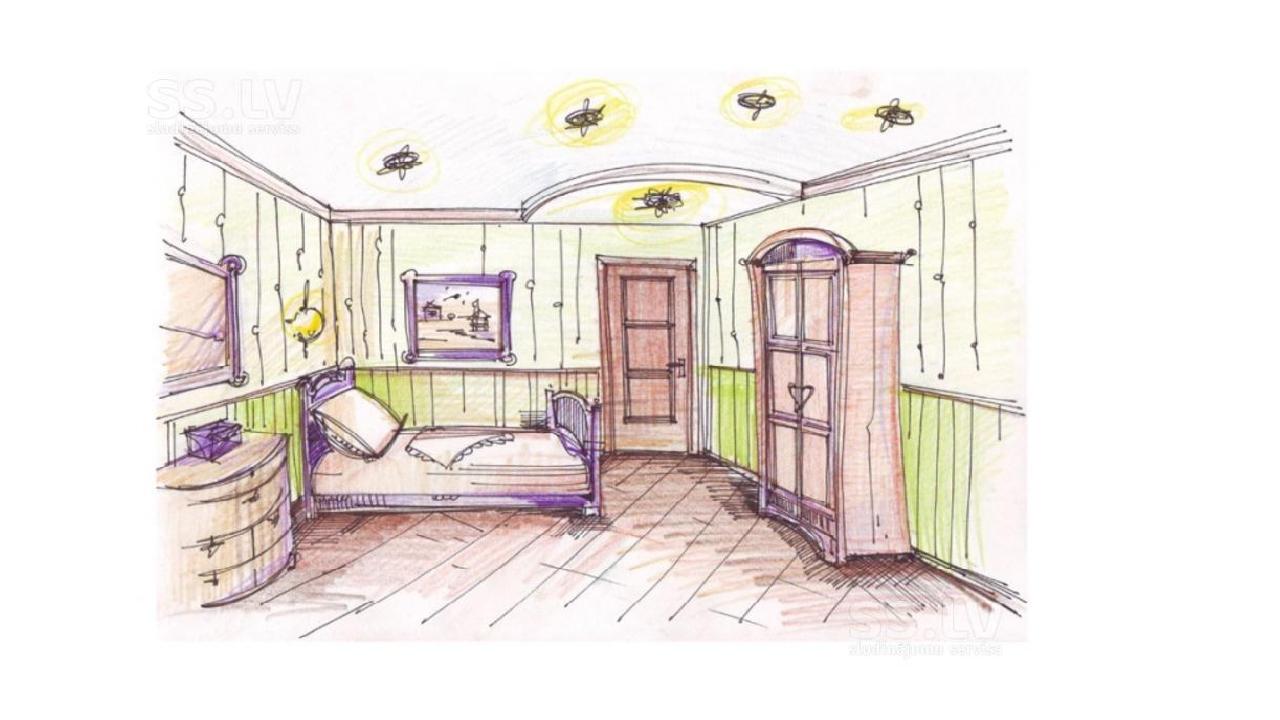 Комната девочки-подростка дизайн интерьера рисунок