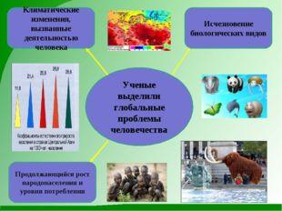 Ученые выделили глобальные проблемы человечества Исчезновение биологических в