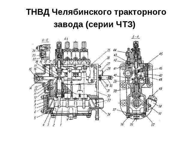 ТНВД Челябинского тракторного завода (серии ЧТЗ)