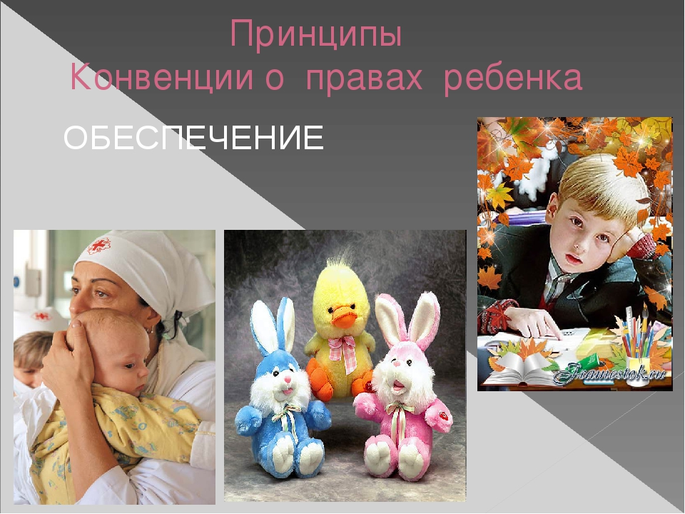 Принципы Конвенции о правах ребенка УЧАСТИЕ СВОБОДА СЛОВА И МЫСЛИ