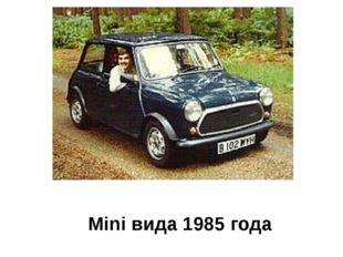 Mini вида 1985 года