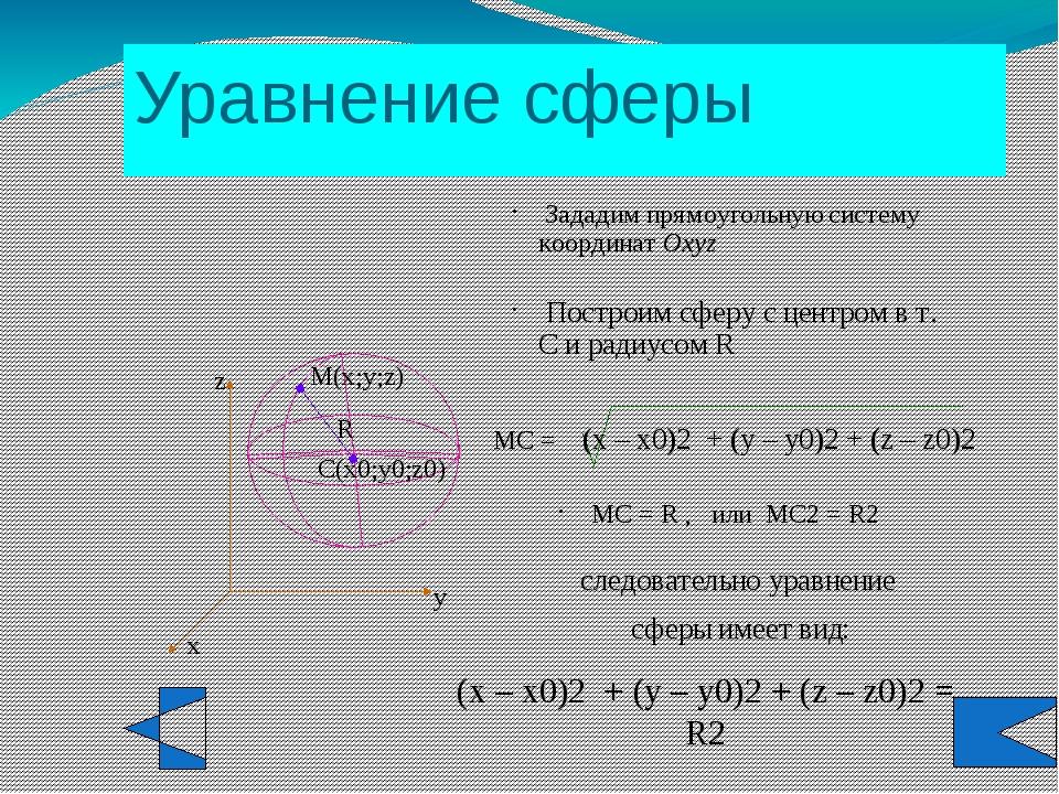 d = R, т.е. если расстояние от центра сферы до плоскости равно радиусу сферы...