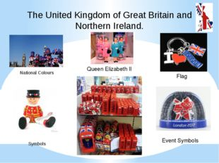 The United Kingdom of Great Britain and Northern Ireland. National Colours Sy