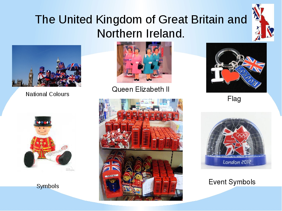 The United Kingdom of Great Britain and Northern Ireland. National Colours Sy...
