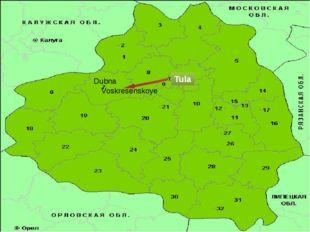 Tula Dubna Voskresenskoye