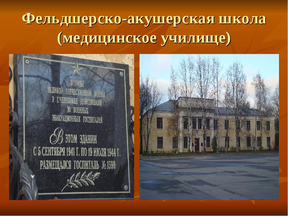 Фельдшерско-акушерская школа (медицинское училище)