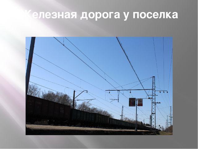 Железная дорога у поселка