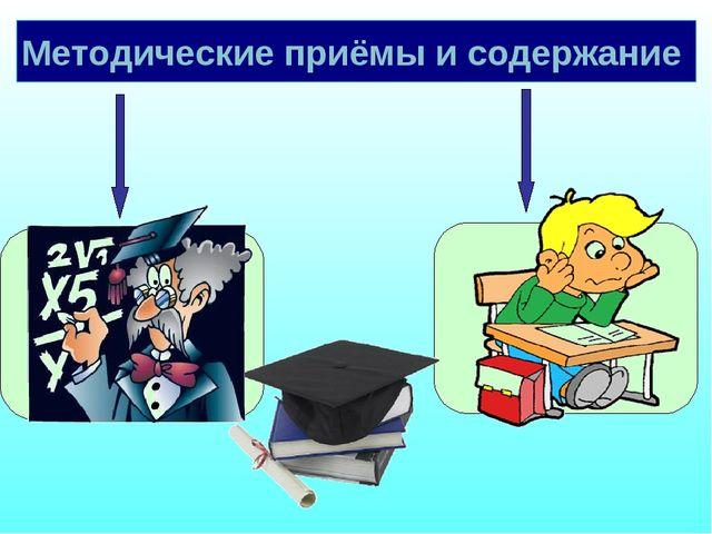 Методические приёмы и содержание