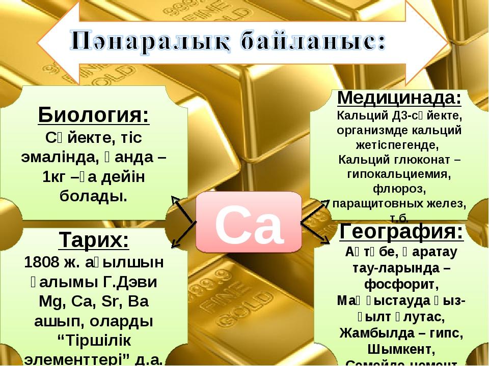 Медицинада: Кальций Д3-сүйекте, организмде кальций жетіспегенде, Кальций глюк...