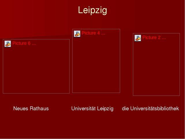 Leipzig Neues Rathaus Universität Leipzig die Universitätsbibliothek