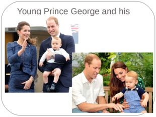 Young Prince George and his parents