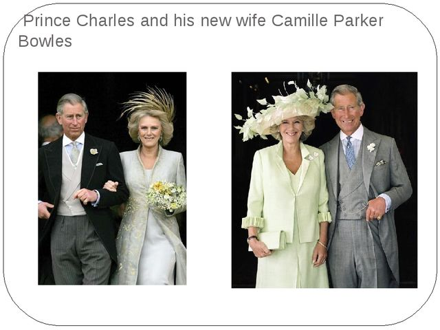 Prince Charles and his new wife Camille Parker Bowles