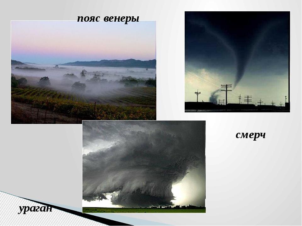пояс венеры ураган смерч